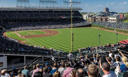 Rooftop View of a Chicago Cubs Game at Wrigley Field Rooftop Club (Up to 50% Off). 16 Games Available.