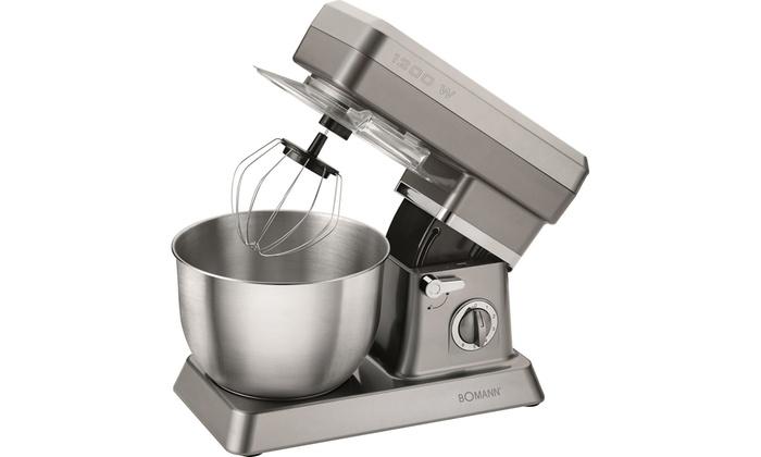 Robot de cuisine 1200w bomann groupon for Robot de cuisine petrin