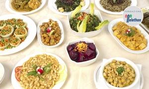 Mens@Sana: Menu biologico in formula All You Can Eat per 2 o 4 persone da Mens@Sana (sconto fino a 53%)