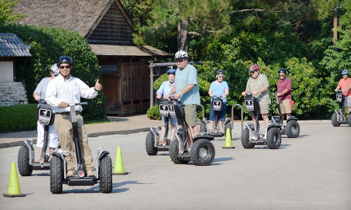 Segway Fort Worth - Multiple Locations: Botanic Garden or West 7th and Trinity Trails Segway Tour for One, Two, or Four from Segway Fort Worth (Up to 56% Off)