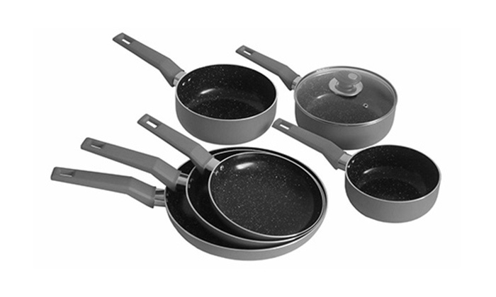 Ceramic Stone Cookware : Ceramic stone coated cookware groupon goods