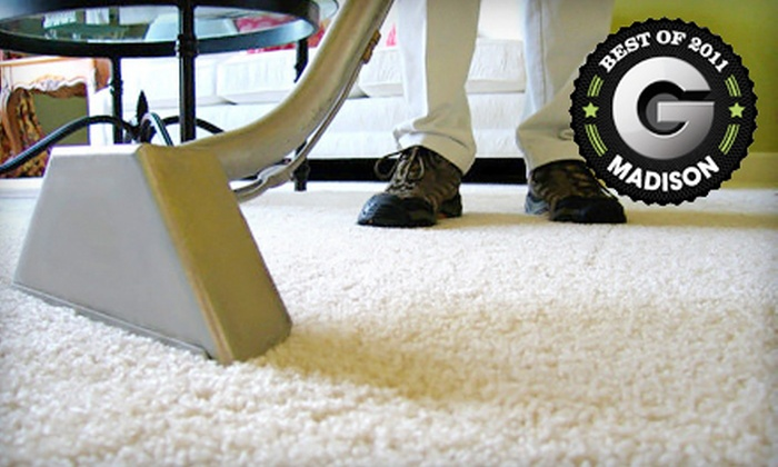 Mass Carpet Care, LLC - Madison: $45 for Carpet Cleaning in Two Rooms from Mass Carpet Care, LLC ($90 Value)