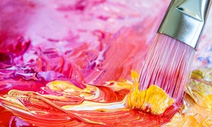 Pinot's Palette: One Two- or Three-Hour Painting Class at Pinot's Palette (Up to 53%Off)