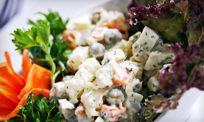 St. Petersburg Nights - St. Pete Beach: $20 for $40 Worth of Russian Fare and Drinks at St. Petersburg Nights in St. Pete Beach