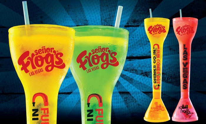 Señor Frog's - Treasure Island: $35 for Two 28 Oz. Yard Drinks at Señor Frog's ($66 Value)