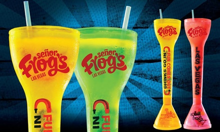 Two or Four 28 Oz. Yard Drinks at Señor Frog's (Up to 50% Off)