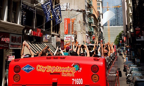Double Decker Bus Tour and Ferry Boat Cruise Package for One or Two from CitySights NY (Up to 57%Off) f7369a29-6372-c87a-d8cc-ba9b7a4599e1