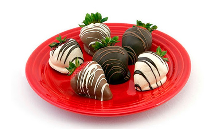 Berried in Chocolate - Total Wine and More: Chocolate-Dipped Strawberries from Berried in Chocolate (Up to 50% Off). Three Options Available.