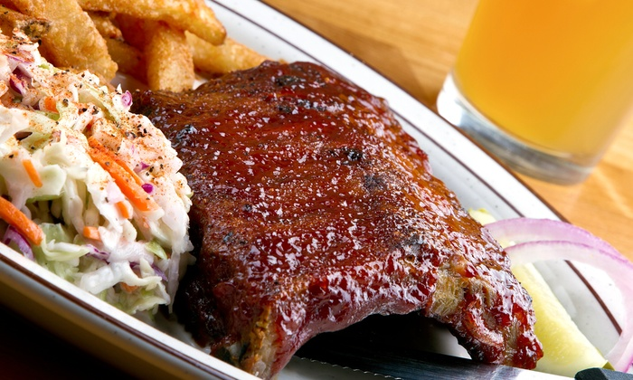 Holy Smoke Barbecue - West Albany: One Barbecue Platter or $16 Worth of Bar Fare and Drinks at Holy Smoke Barbecue (Up to 47% Off)