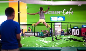 Rockin' Jump: Two Hours of Open Jumping for Two, Four, or Six at Rockin' Jump (Up to 45% Off)