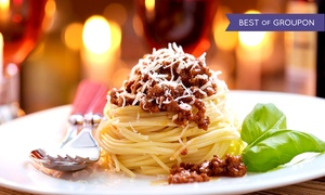 Buono Bistro: Italian Dinner Cuisine for Two or Four at Buono Bistro (Up to 45% Off). Three Options Available.