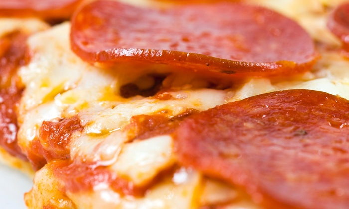 4sides Pizza - French Creek: Pizza Meal with Drinks for Four at Four Sides Pizzas (43% Off)
