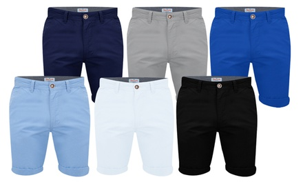 Stallion Mens Chino Shorts