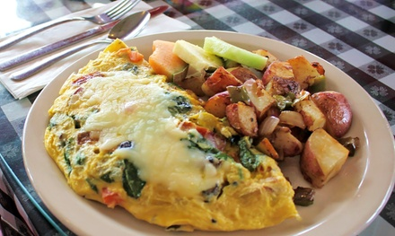 Homestyle Cuisine for Lunch or Breakfast at Joe's Diner (50% Off). Four Options Available.