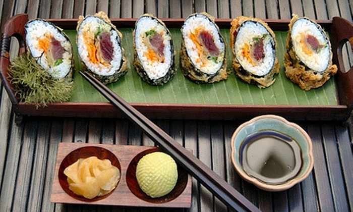 INDIGO - Downtown Honolulu: Fusion Cuisine or Pupus and Drinks for Two or Four at INDIGO (Up to 55% Off)