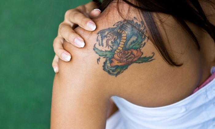 "Byram Ink Tattoo - Byram: Tattoo Work on 1""x1"" or 3""x3"" of Body Area at Byram Ink Tattoo (Up to 52% Off)"