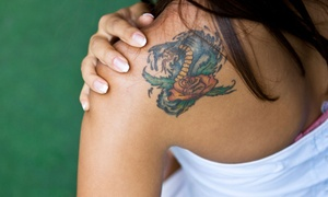 "Byram Ink Tattoo: Tattoo Work on 1""x1"" or 3""x3"" of Body Area at Byram Ink Tattoo (Up to 52% Off)"