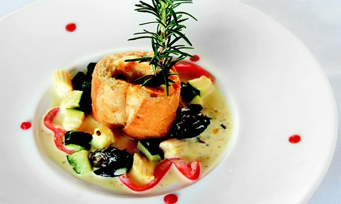 french fusion cuisine - jj bistro & french pastry | groupon