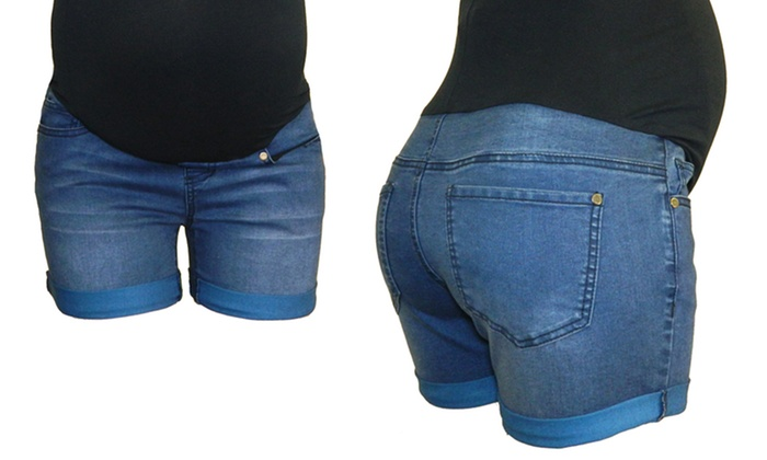 377261fc4 Bella Vida Maternity Shorts (Size L) | Groupon