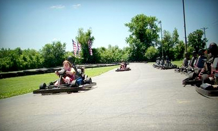 Boschertown Grand Prix Racing - St Charles: $28 for Four Go-Kart, 53% Off Go-Kart Racing in St. CharlesSprint-Kart, or Double-Seater Races at Boschertown Grand Prix Racing in St. Charles ($60 Value)