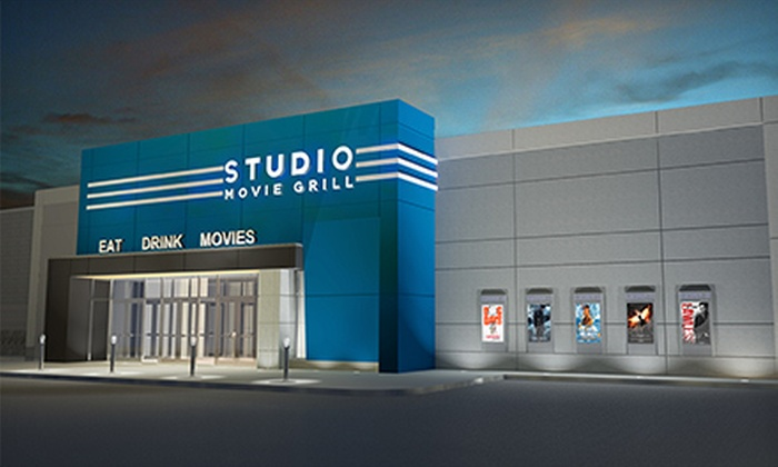 Studio Movie Grill - Multiple Locations: $6 for Movie Outing with Ticket and Soda at Studio Movie Grill (Up to $14 Value)