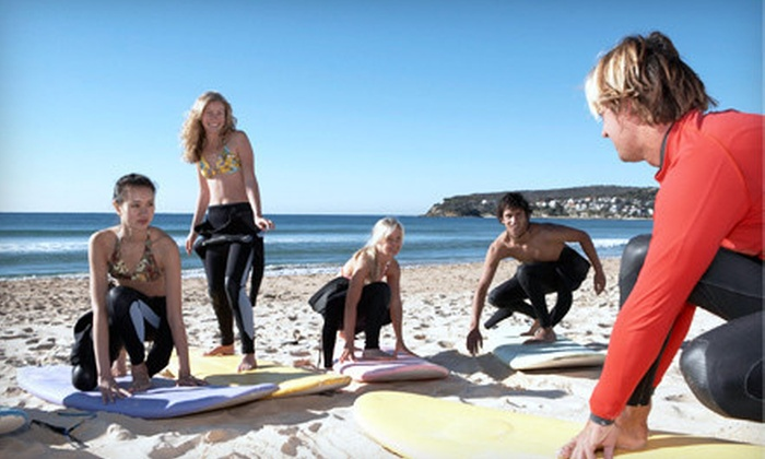 Dacane Surf Shop - Albro Lake: One or Three Private Surfing Lessons, or 90-Minute Surf Camp at Dacane Surf Shop (Up to 67% Off)