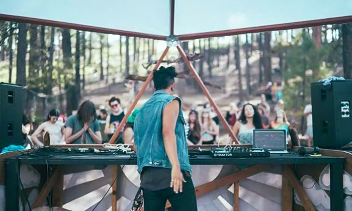 "Desert Canvas - Kiwanis Park: $25 for Admission for Two to ""Rebirth"": a Conscious Music Festival at Desert Canvas ($46 Value)"