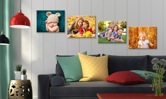 "Custom 16""x20"" Canvas Prints from Fabness (Up to 82% Off)"