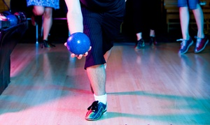 Capri Valley Lanes: CC$17 for One-Hour of Bowling with Shoes for Up to Six at Capri Valley Lanes (CC$34 Value)