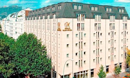 Berlin: 3-4 Tage für Zwei inkl. Frühstück, 10% Rabatt für die Hotelbar und Late Check-out im 4* Berlin Mark Hotel