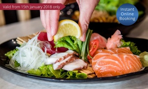 Poppo Korean & Japanese: $15 for $25 to Spend on Korean and Japanese Food and Drinks at Poppo Korean & Japanese