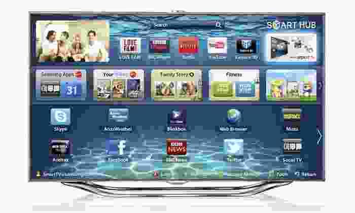 "Samsung 55"" LED 1080p 240Hz Smart TV (UN55ES8000): $1,599.99 for a Samsung 55"" LED 1080p 240Hz Smart TV (UN55ES8000) ($3,099 List Price). Free Shipping."
