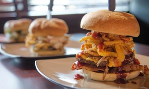 Coaches Burger Bar: $17 for Two Groupons, Each Good for $15 Worth of Burgers for Two at Coaches Burger Bar ($30 Total Value)
