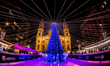✈ Budapest Christmas Markets: 24 Nights at a Choice of 4* Hotels with Flights and Option on Széchenyi Spa Entry*