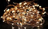 Think Global General Trading: Two ( AED 39) or Four (AED 75) Sets of LED Copper Wire String Lights
