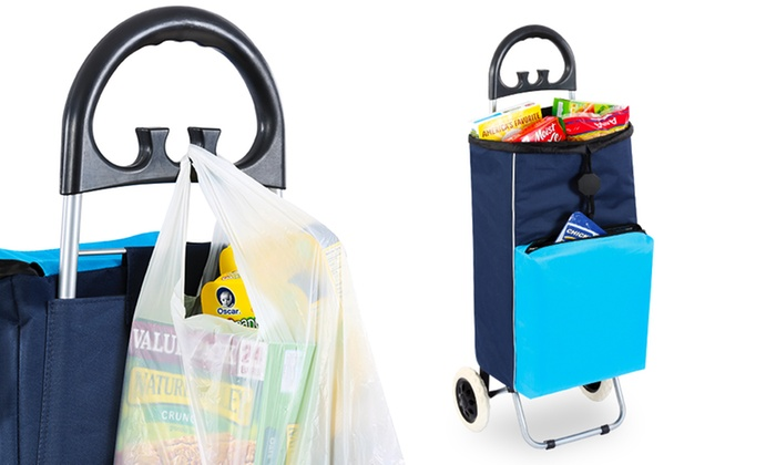 2-in-1 Shopping Cart and Cooler: 2-in-1 Shopping ...