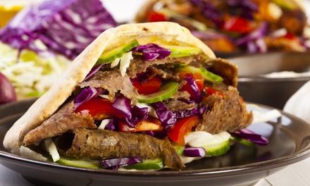 Zestaw kebab, gyros lub tortilla