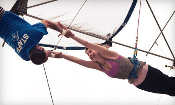 Trapeze High - Middleburg: $30 for a 90-Minute Flying-Trapeze Class at Trapeze High (Up to $60 Value)