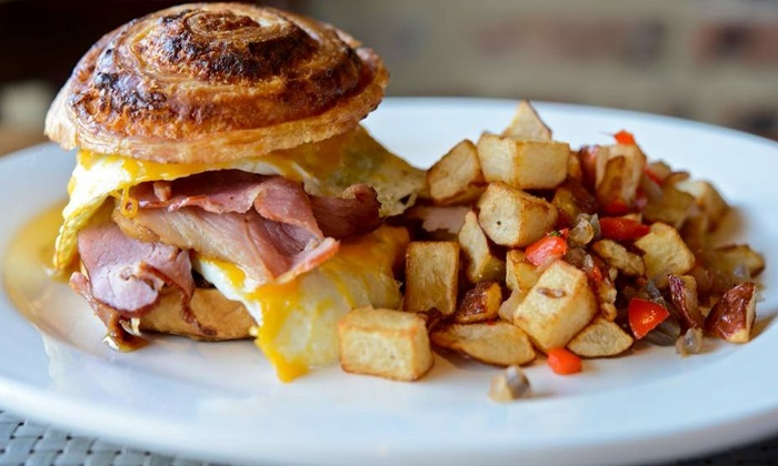 Hutch American Bistro - Lakeview: American Brunch and Drinks for Two or Four at Hutch American Bistro (Up to 40% Off). Four Options Available.