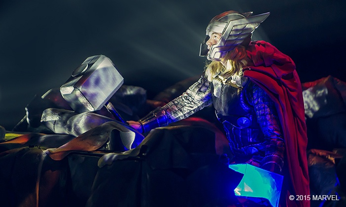 """Marvel Universe Live!  - SNHU Arena: """"Marvel Universe LIVE!"""" on Saturday, October 31, at 7 p.m."""