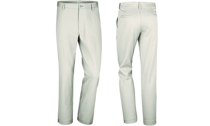 Adidas Men's ClimaLite Flat-Front Golf Pants