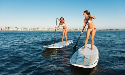 1h de paddle en basse ou haute saison pour 1 ou 2 personnes dès 9,99 € avec Cap Ferrat Watersports