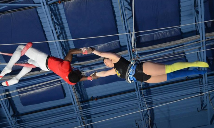 Trapeze School New York Beantown - West End: $40 for a Flying-Trapeze Class at Trapeze School New York Beantown (Up to $80 Value)