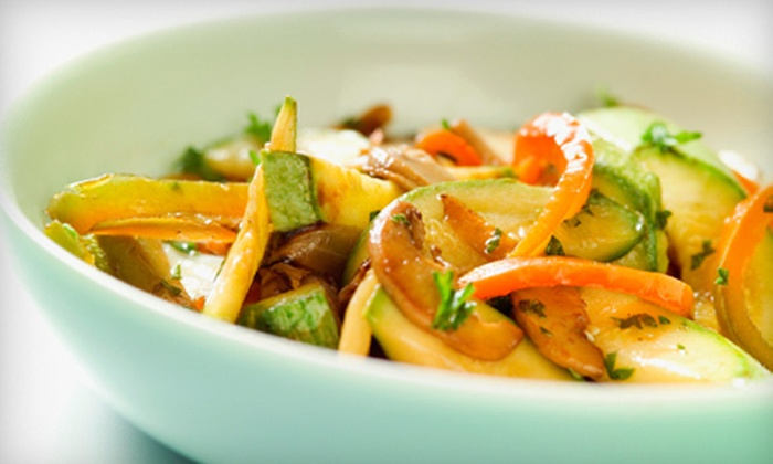 bd's Mongolian Grill - Lakeside Village: $10 for $20 Worth of Create-Your-Own Stir-Fry at bd's Mongolian Grill