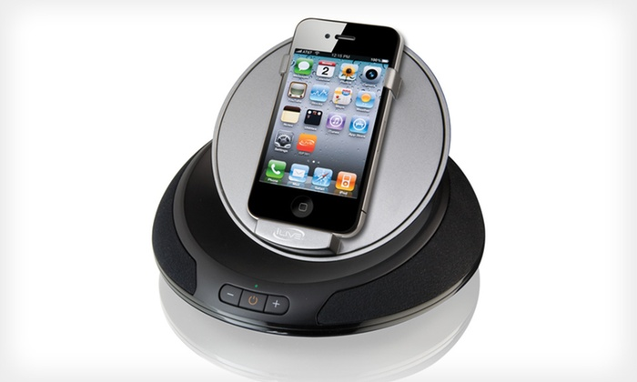 iPhone and iPod Speaker Dock: $25 for an iPhone and iPod Speaker Dock ($49.99 List Price).