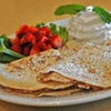 Up to 48% Off at Whispers Cafe & Creperie