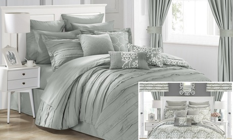 Chic Home Reversible Bedroom in a Bag Set (24-Piece) eb37a212-ee1a-11e6-83fb-002590604002