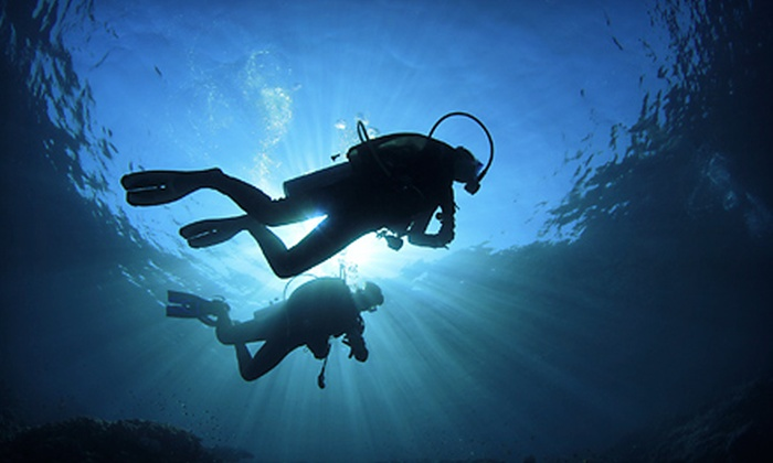 Dive Shack USA - Bullhead City: Scuba Gear or a Scuba Diving Training Certification Course for One, Two, or Four at Dive Shack USA (Up to 56% Off)