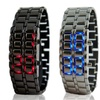 Men's Faceless Digital Watches in Stainless Steel