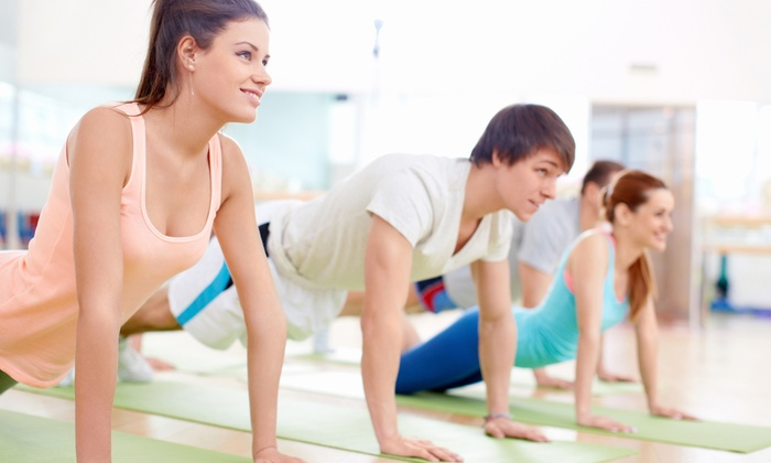 Dynamic Health and Fitness - Clay: $49 for One Month of Fitness Classes at Dynamic Health and Fitness ($100 Value)